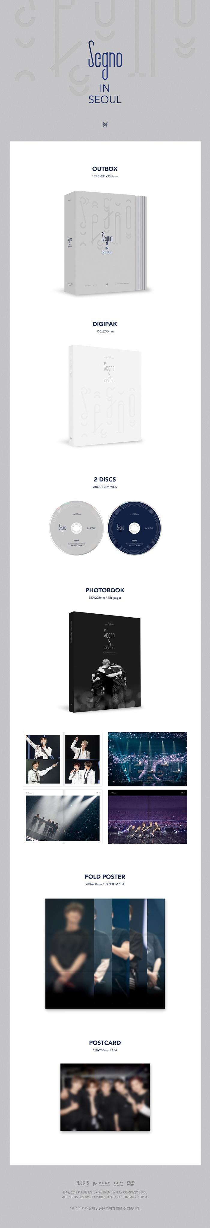 [DVD] NUEST - 2019 NUEST CONCERT [Segno] IN SEOUL DVD (2 DISC)