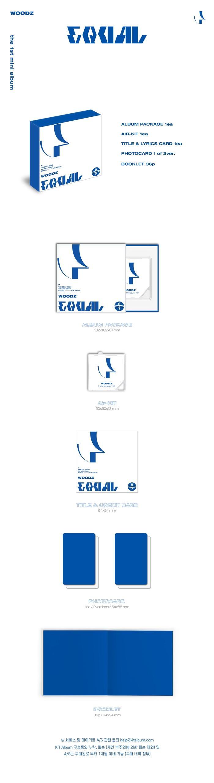 WOODZ - 1st Mini [EQUAL] Kit Album