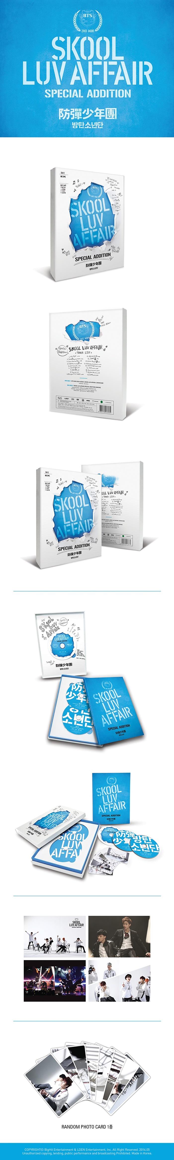 BTS - Skool Luv Affair Special Addition