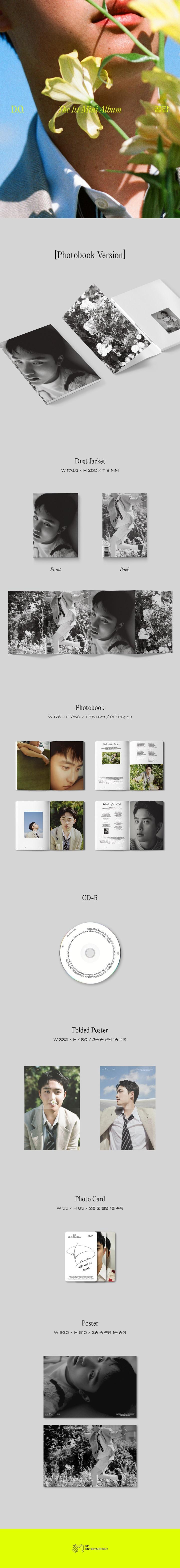 D.O. - 1st Mini [공감] Photobook ver