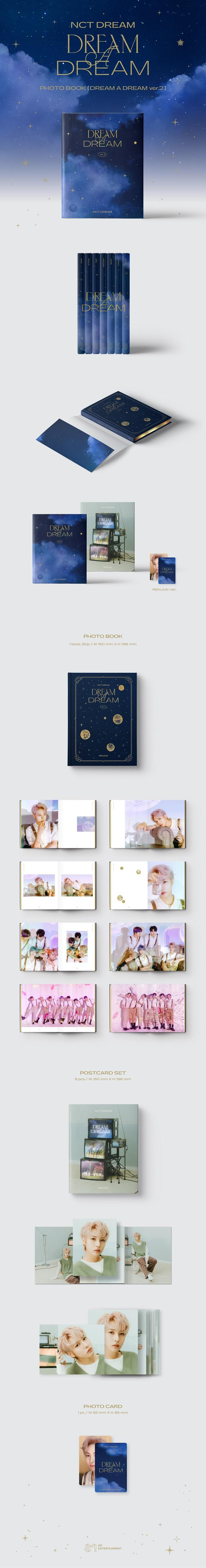 NCT DREAM-PHOTOBOOK [DREAM A DREAM ver.2] [ENJUN]