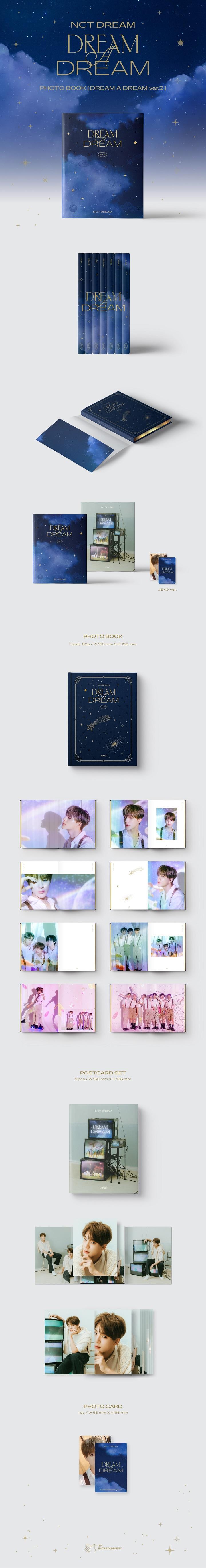 NCT DREAM-PHOTOBOOK [DREAM A DREAM ver.2] [JENO]