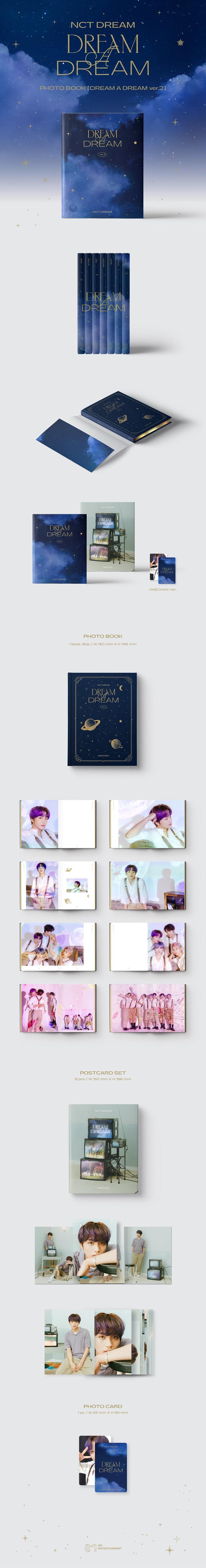 NCT DREAM- PHOTOBOOK [DREAM A DREAM ver.2][HAECHAN]