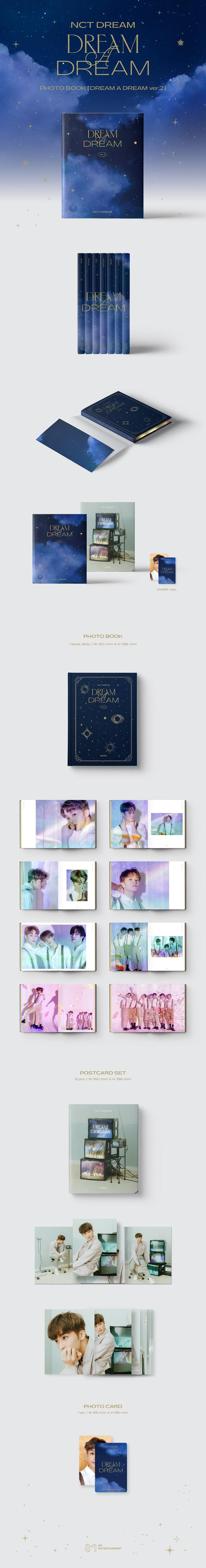 NCT DREAM-PHOTOBOOK [DREAM A DREAM ver.2] [MARK]