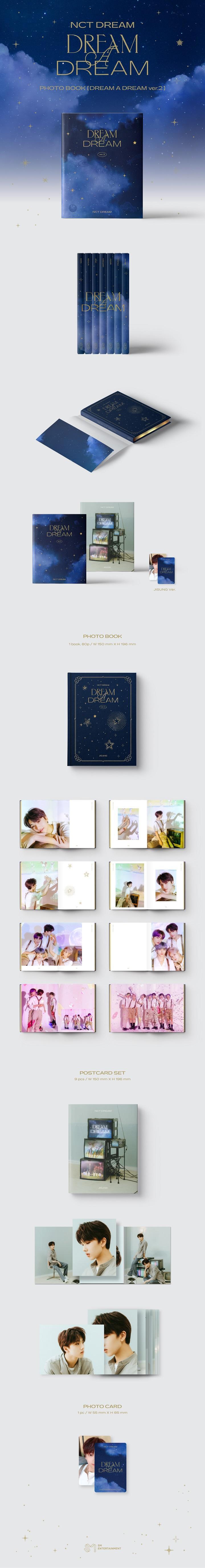 NCT DREAM-PHOTOBOOK [DREAM A DREAM ver.2] [JISUNG]