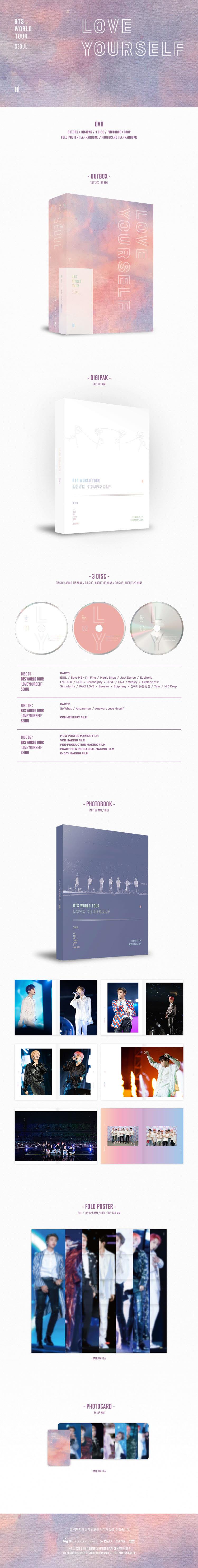 BTS - BTS WORLD TOUR 'LOVE YOURSELF' SEOUL (DVD)
