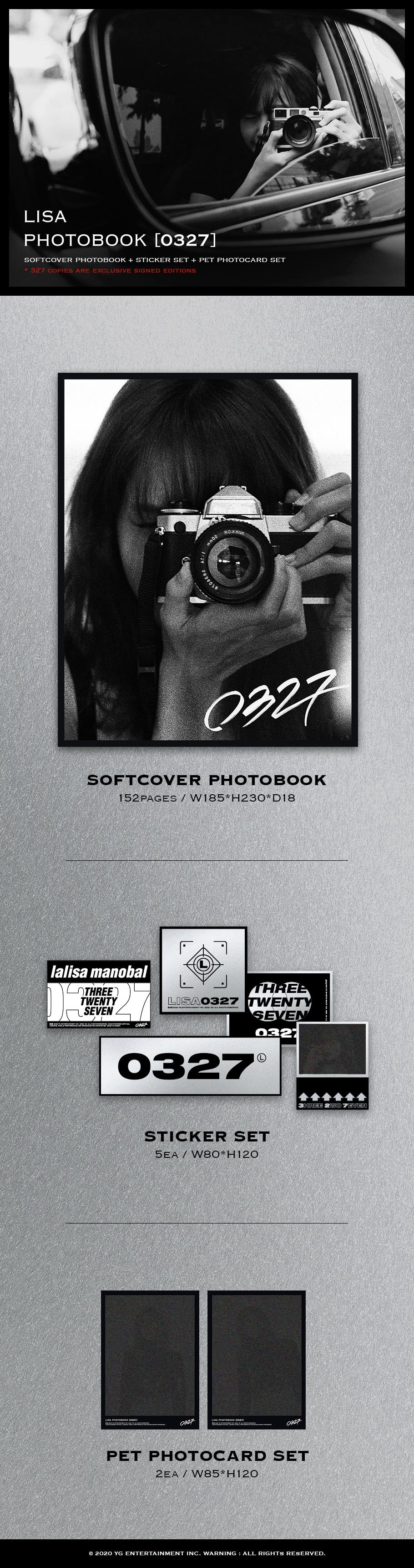 LISA PHOTOBOOK [0327] -LIMITED EDITION